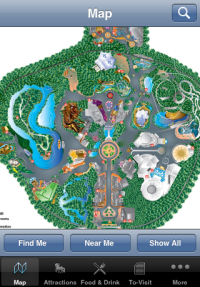 Disney iPhone Application