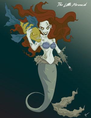 Twisted Princess Ariel by jeftoon01