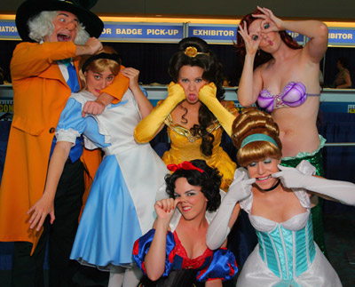 Funny Disney Princess Cosplay