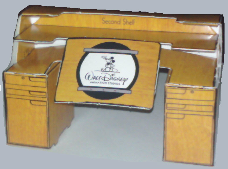 Disney Animation Desk model assembled