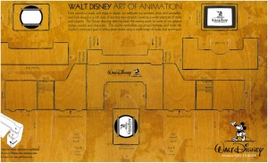 Disney Animation Desk model sheet