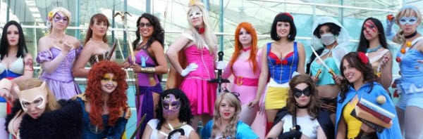 Disney Princess Cosplay at 2012 Comic-con